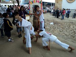 Capoeira na Praça