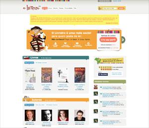 O Livreiro, uma rede social para quem gosta de ler
