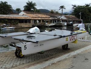 VDC1 - o barco movido a energia solar do INP