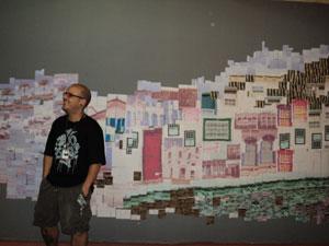 Felipe Lopez, um artista plástico no Paraty em Foco