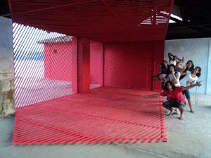 Instalação de Georges Rousse