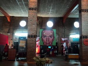 Espaço Games no Pavilhão do Festival do Rio
