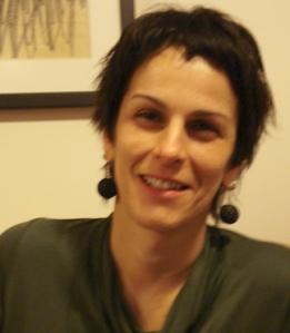 A escritora Márcia Leite