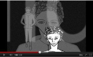 Meus Caminhos, animação  de Samara Donario e Luis Bacelar