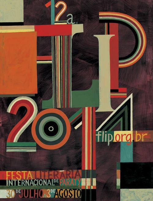 cartaz da Flip 2014