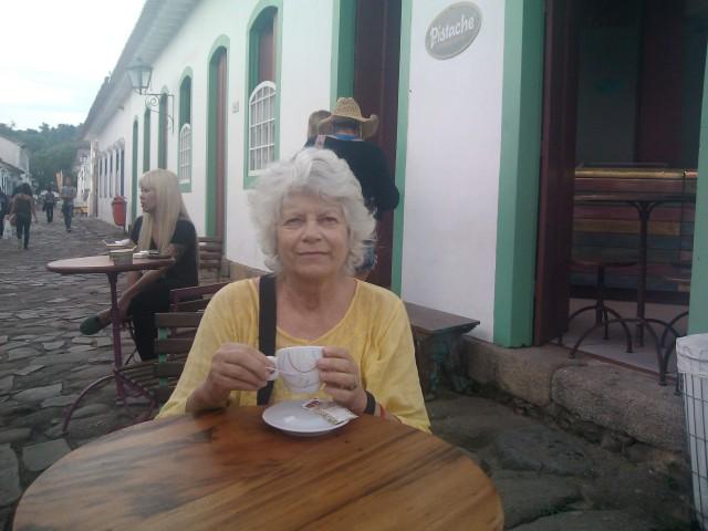 Turista uruguaia visita a Flip